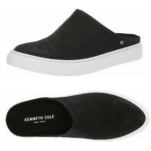 Kenneth Cole Slides 9.5 Slip On Leather Sneakers